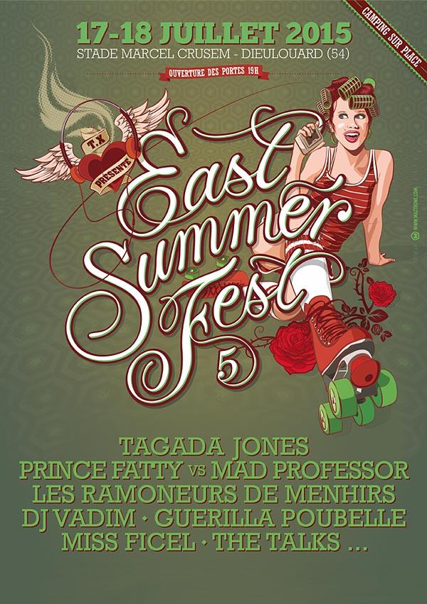 Plus d'infos sur l'évènement EAST SUMMER FEST V