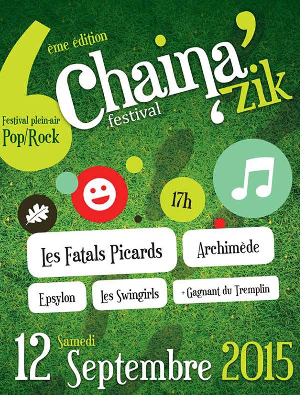 Plus d'infos sur l'évènement CHAINA'ZIK FESTIVAL