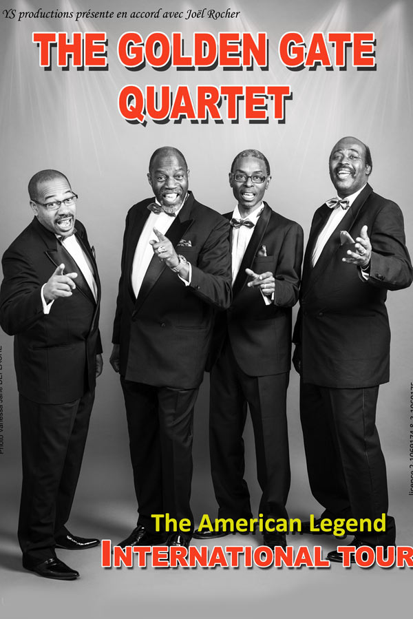 THE GOLDEN GATE QUARTET Artois Expo gospel