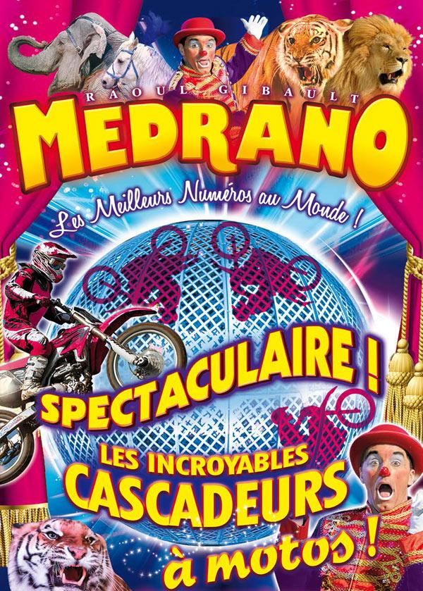 Plus d'infos sur l'évènement CIRQUE MEDRANO