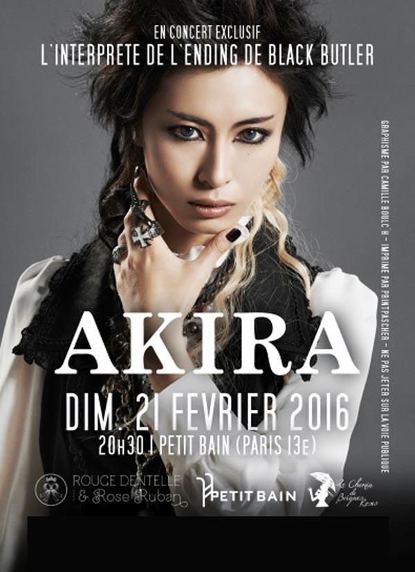 Plus d'infos sur l'évènement AKIRA - LIVE IN PARIS
