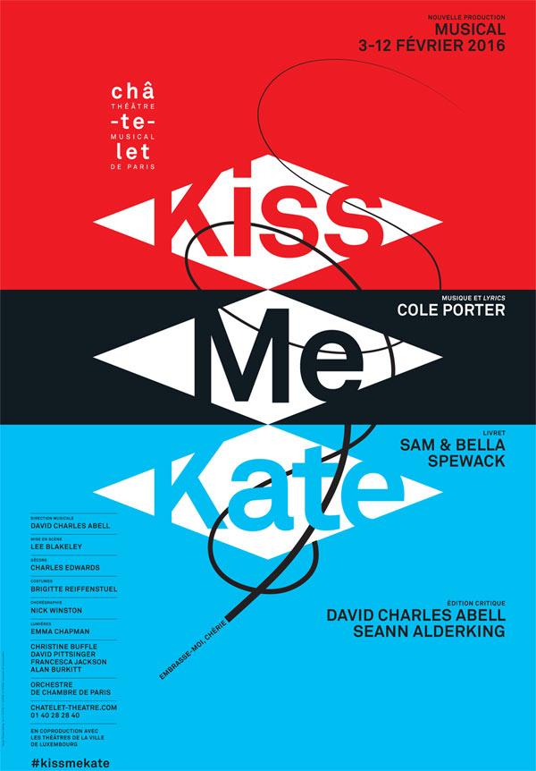Plus d'infos sur l'évènement KISS ME KATE