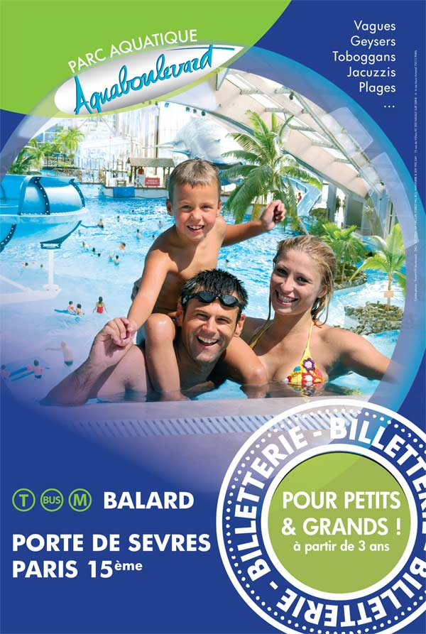 PARC AQUATIQUE DE L'AQUABOULEVARD