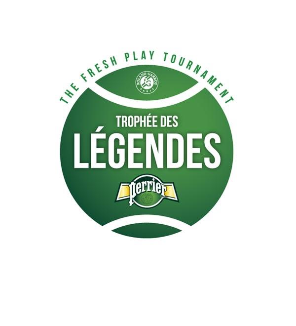 TROPHEE DES LEGENDES PERRIER Stade Roland-Garros rencontre, compétition de tennis