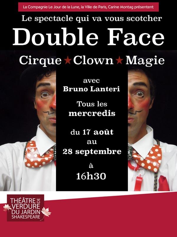 DOUBLE FACE TH. DE VERDURE JARDIN SHAKESPEARE cirque