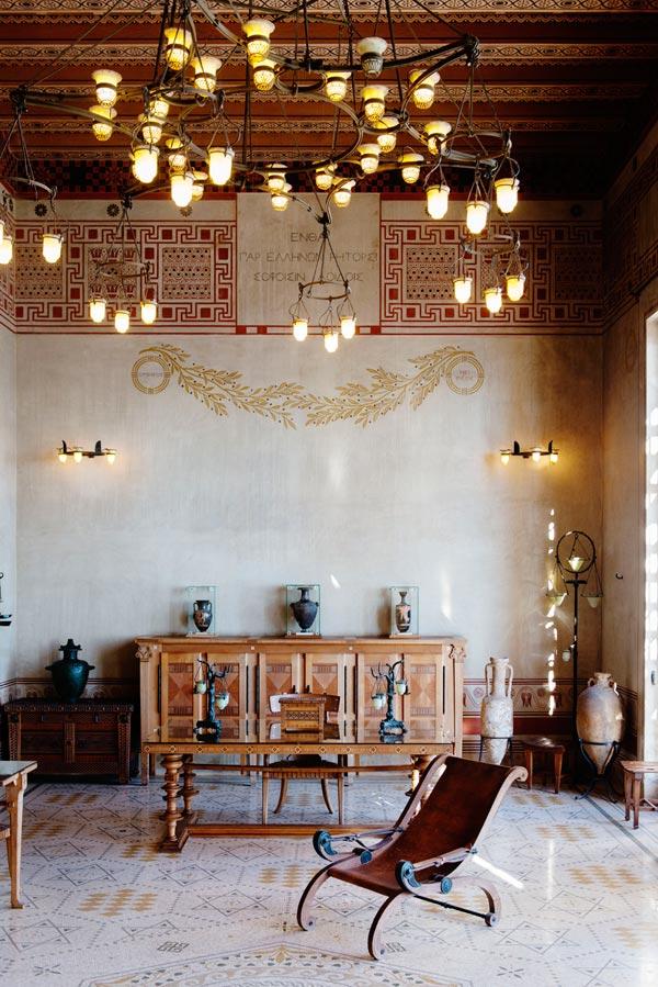 villa kerylos villa kerylos beaulieu sur mer visite de monuments sur france billet. Black Bedroom Furniture Sets. Home Design Ideas