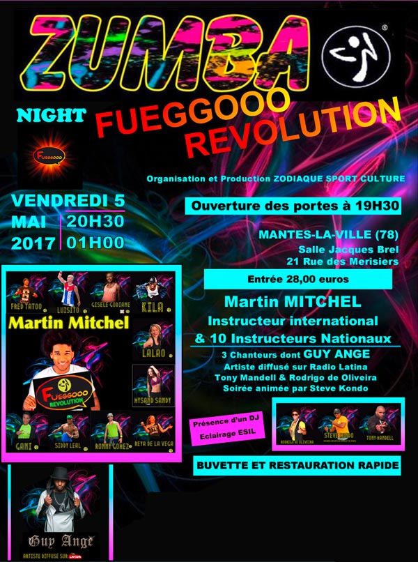 ZUMBA NIGHT FUEGGOOO REVOLUTION