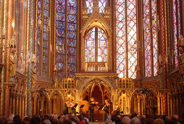 GRANDS CONCERTS DE LA TOUSSAINT LA SAINTE-CHAPELLE concert de musique classique