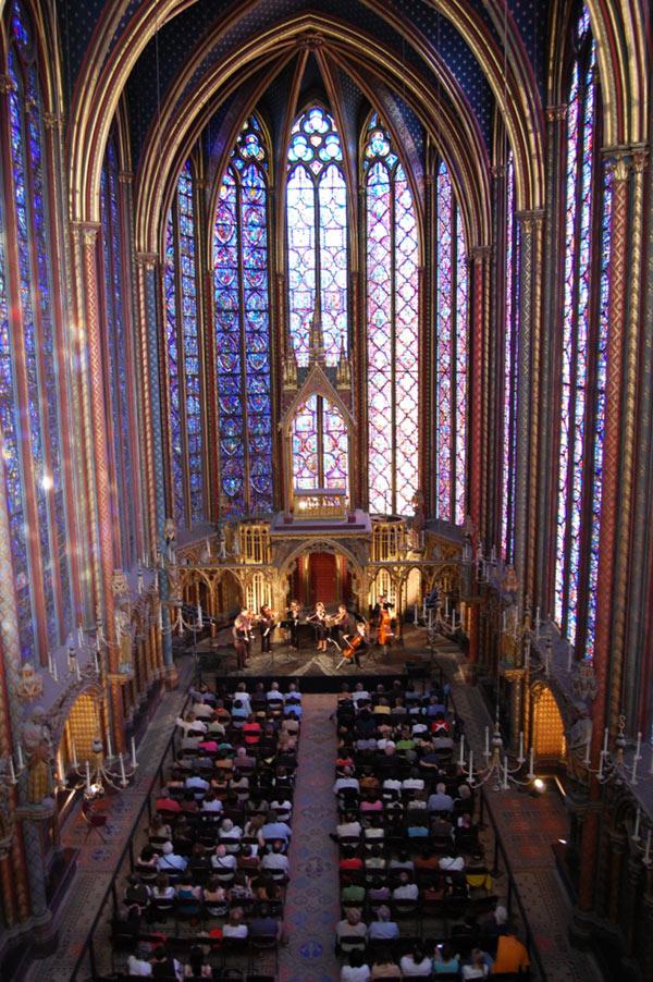 J.S . BACH LA SAINTE-CHAPELLE concert de musique classique