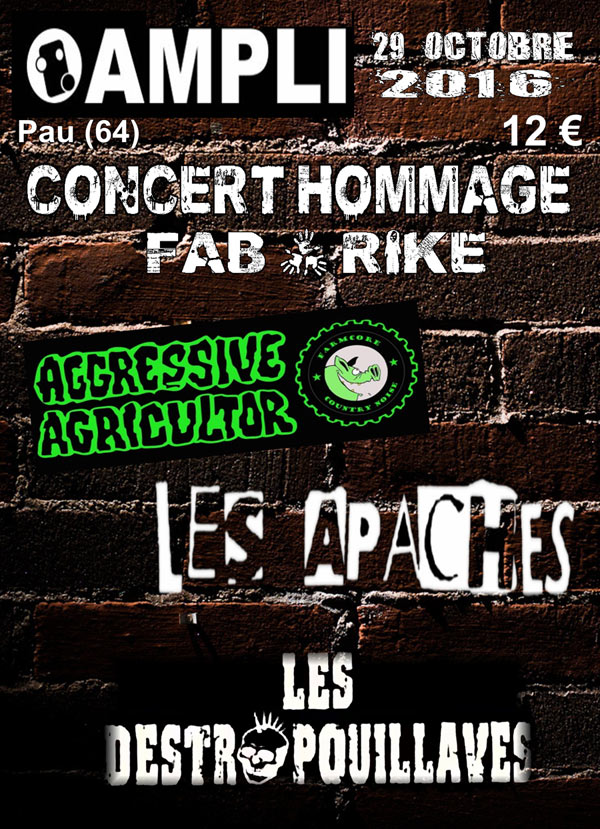 AGGRESSIVE AGRICULTOR + LES APACHES