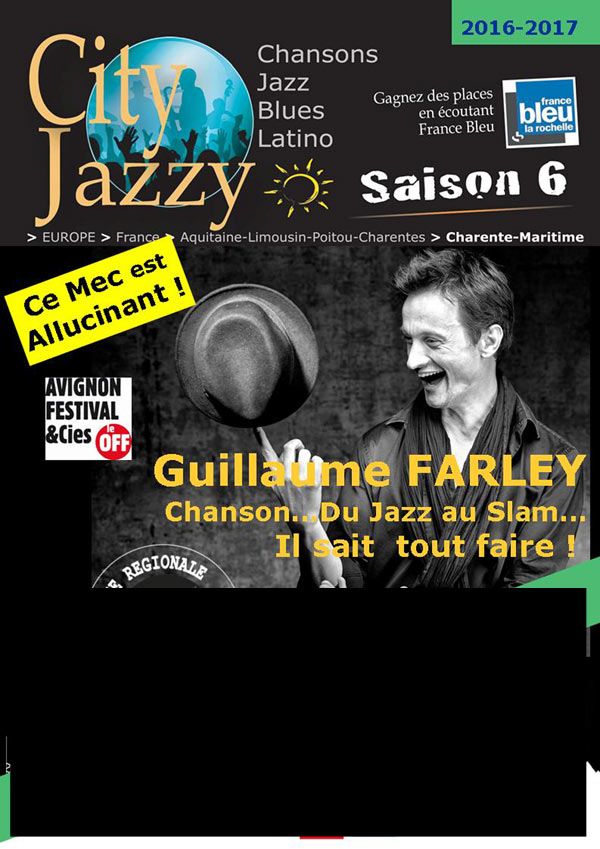 CITYJAZZY - GUILLAUME FARLEY