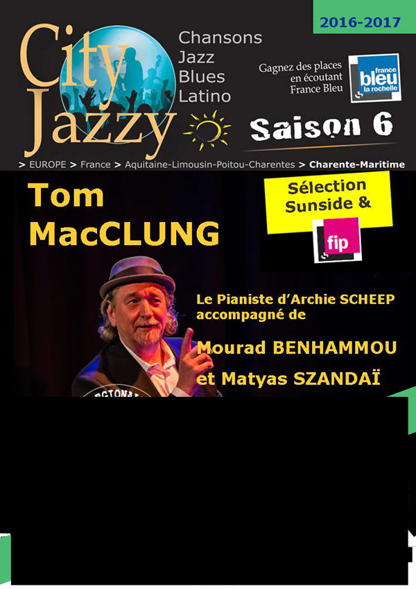 CITYJAZZY - TOM MAC GLUNC