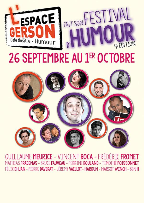 SOIREE DECOUVERTE 3 Espace Gerson spectacle de café-théâtre