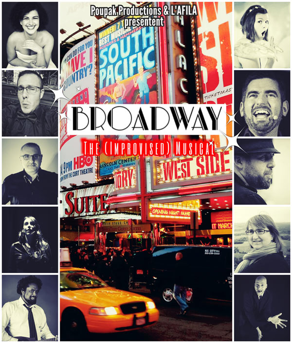 BROADWAY THE IMPROVISED MUSICAL
