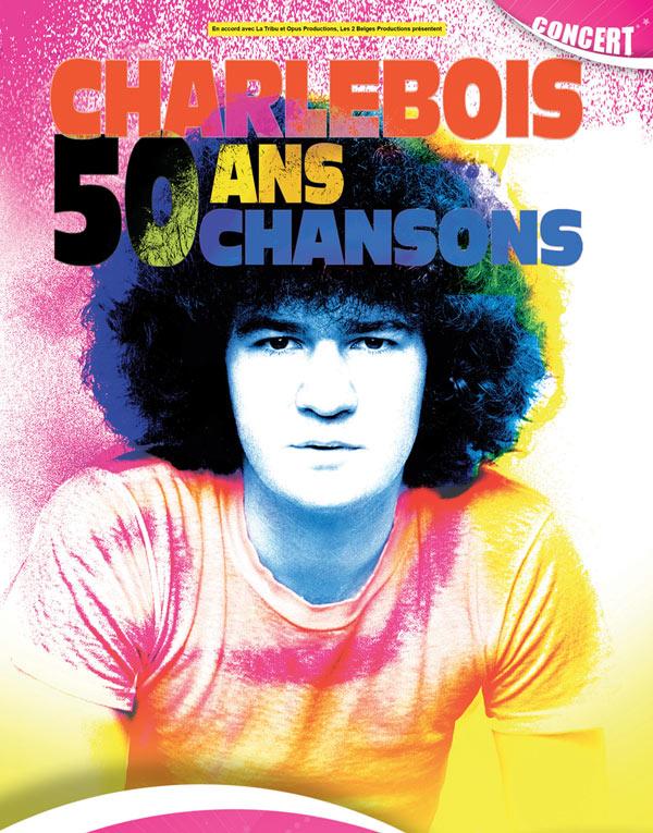 ROBERT CHARLEBOIS Palais Des Congres concert de chanson française