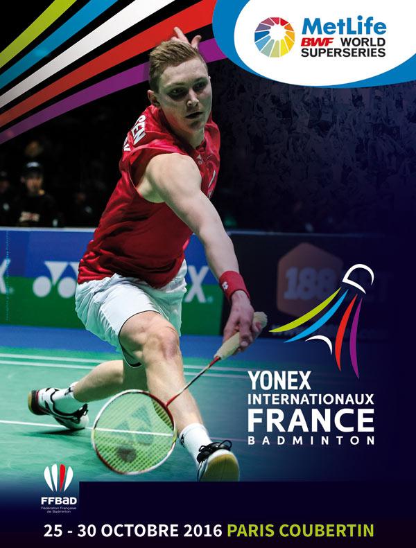 YONEX INTERNATIONAUX DE FRANCE STADE PIERRE DE COUBERTIN rencontre, compétition sportive
