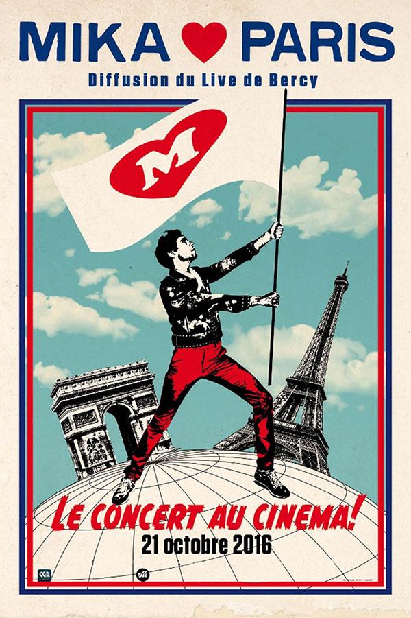 Plus d'infos sur l'évènement MIKA LOVE PARIS