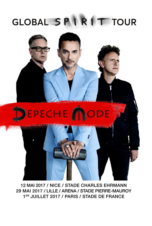 DEPECHE MODE:BUS NANTES+PELOUSE OR