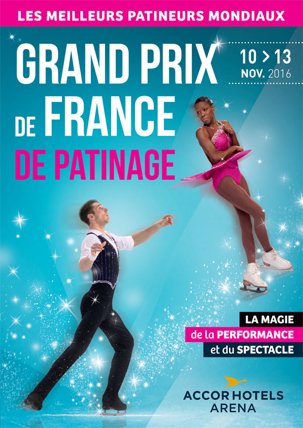 GRAND PRIX DE FRANCE DE PATINAGE