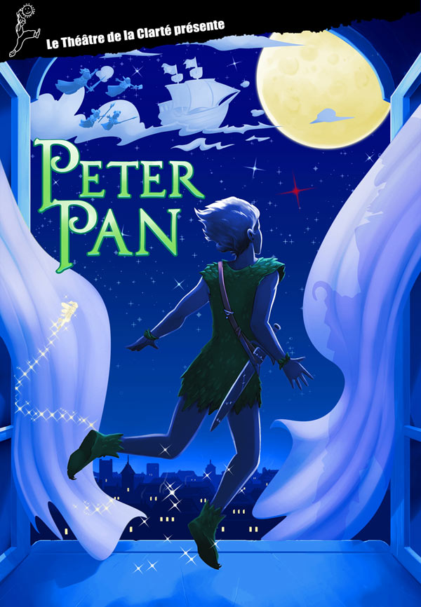 PETER PAN Théâtre de La Clarté spectacle pour enfant