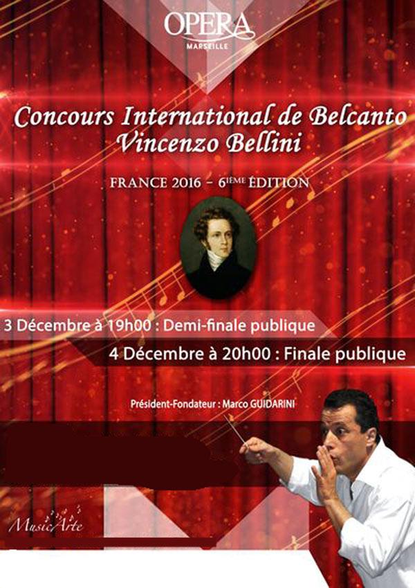 CONCOURS INTERNATIONAL OPERA MUNICIPAL récital, chant classique