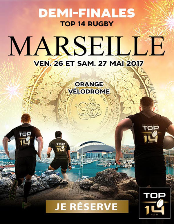 RUGBY TOP 14 - DEMI-FINALE 1