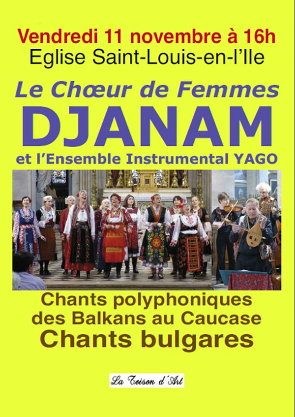DJANAM - CHANTS BULGARES