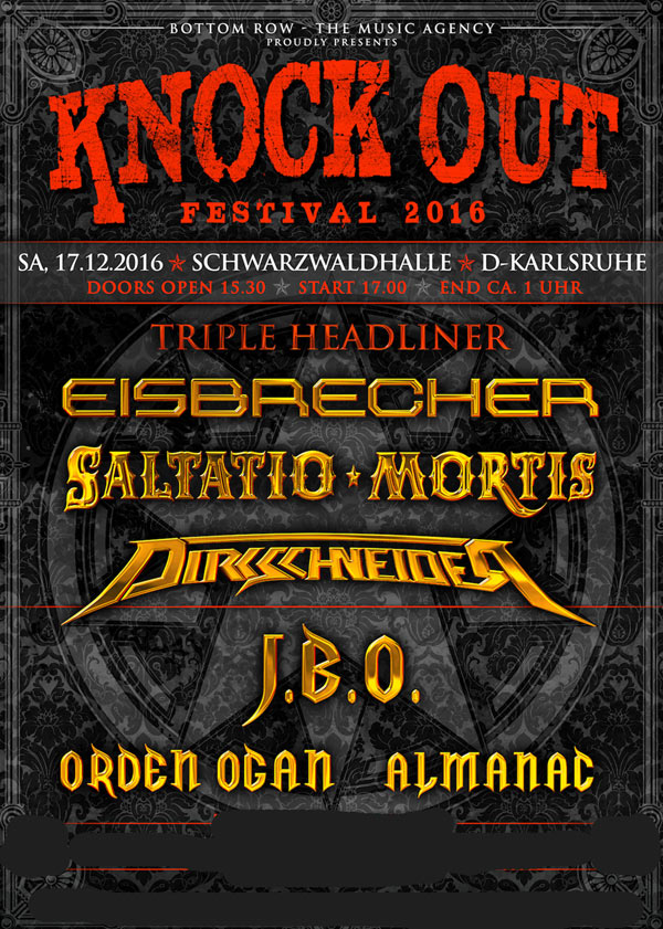 KNOCK OUT FESTIVAL 2016