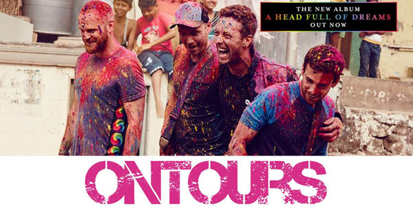 COLDPLAY:BUS BESANCON+BILLETPELOUSE