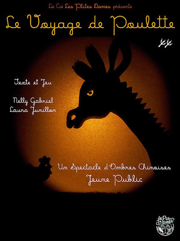 LE VOYAGE DE POULETTE Carré 30 pièce de théâtre pour enfant