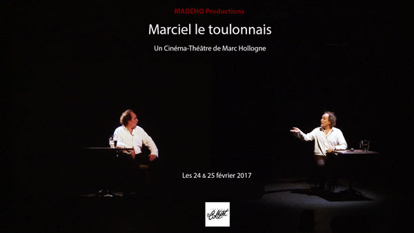 MARC HOLLOGNE THEATRE LE COLBERT one man/woman show