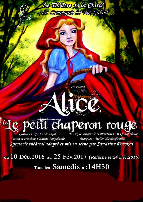 ALICE, LE PETIT CHAPERON ROUGE