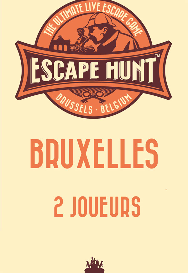 ESCAPE GAME BRUXELLES - 2 PERSONNES