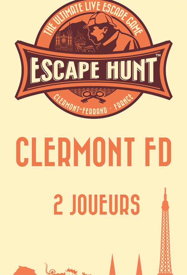 ESCAPE GAME CLERMONT FD-2 PERSONNES