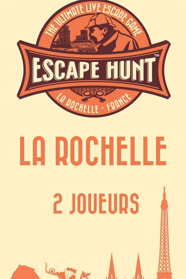 ESCAPE GAME LA ROCHELLE-2 PERSONNES ESCAPE HUNT EXPERIENCE LA ROCHELLE activité, loisir