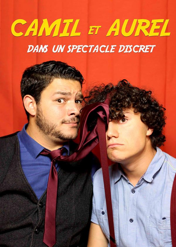 CAMIL ET AUREL LE BOUI BOUI one man/woman show