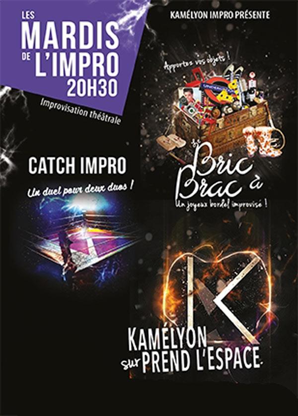IMPROVISATION FEVRIER Espace Gerson spectacle de café-théâtre