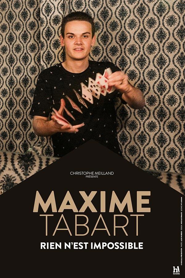 Plus d'infos sur l'évènement MAXIME TABART