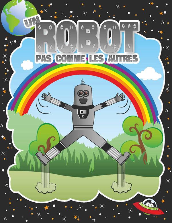UN ROBOT PAS COMME LES AUTRES LE REPAIRE DE LA COMEDIE pièce de théâtre pour enfant
