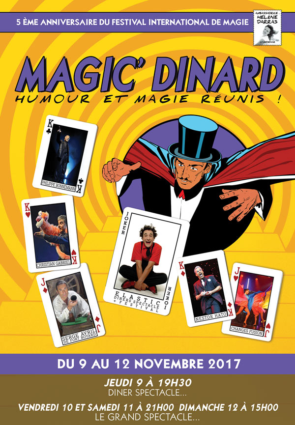 FESTIVAL INTERNATIONAL MAGIC'DINARD