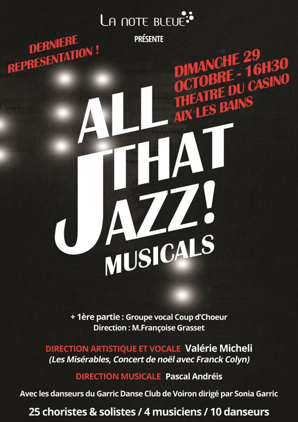 ALL THAT JAZZ! MUSICALS