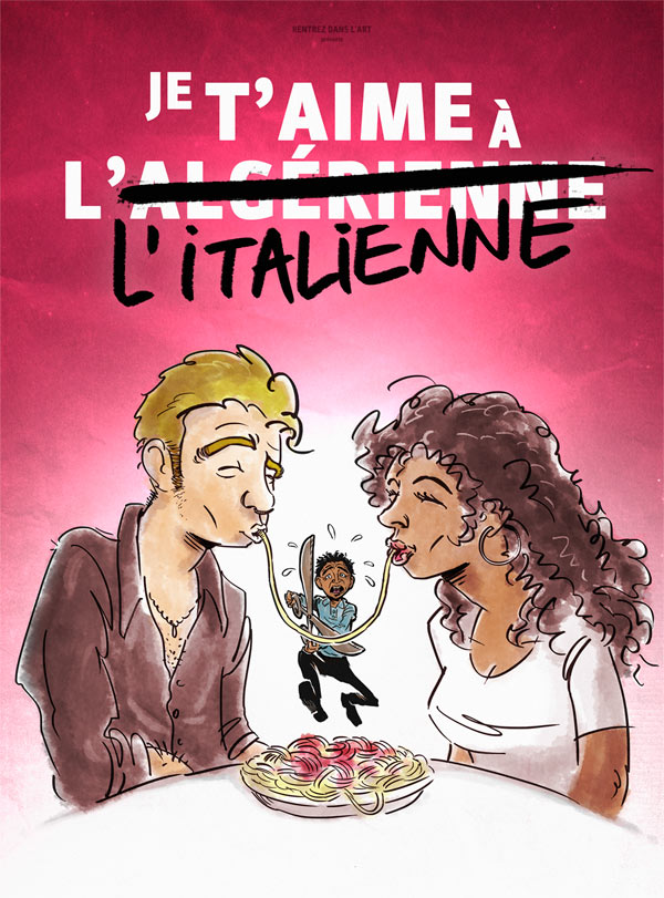 JE T'AIME A L'ITALIENNE