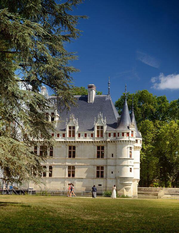 Chateau d 39 azay le rideau chateau d 39 azay le rideau azay le rideau visite de monuments sur - Visite chateau azay le rideau ...