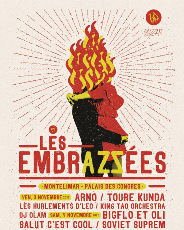 LES EMBRAZZEES PASS 2 JOURS