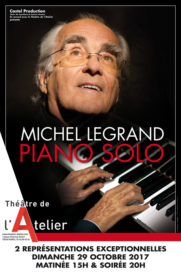MICHEL LEGRAND PIANO SOLO