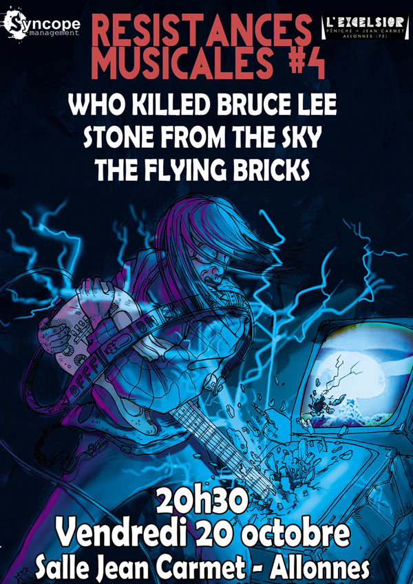 WHO KILLED BRUCE LEE + STONE FROM