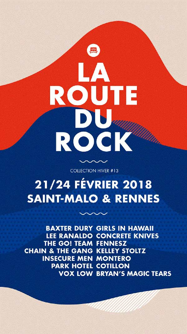 ROUTE DU ROCK - COLLECTION HIVER 2J