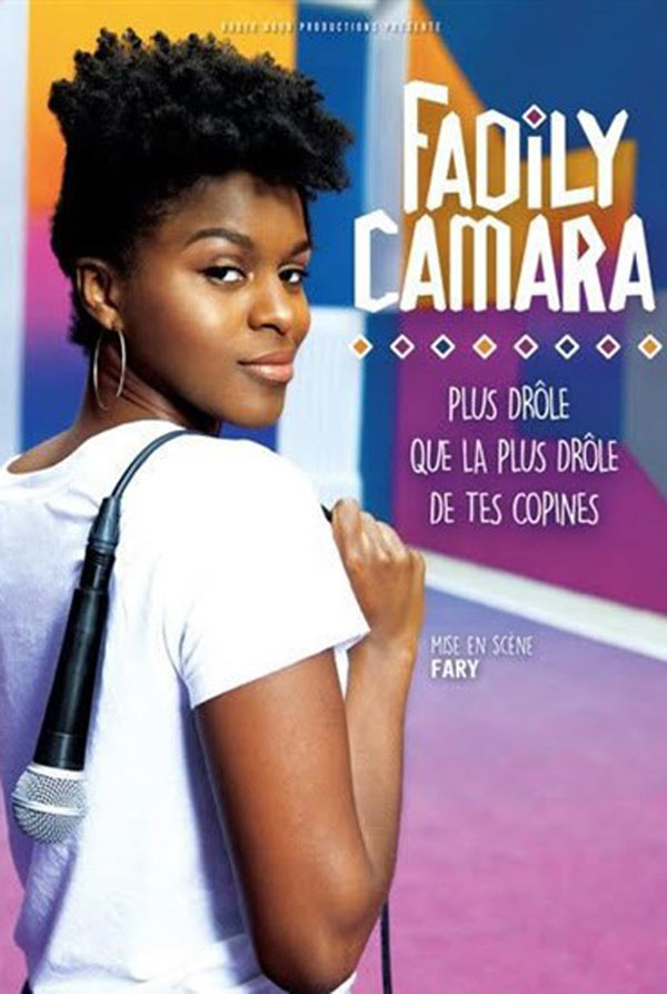 FADILY CAMARA - PLUS DROLE QUE