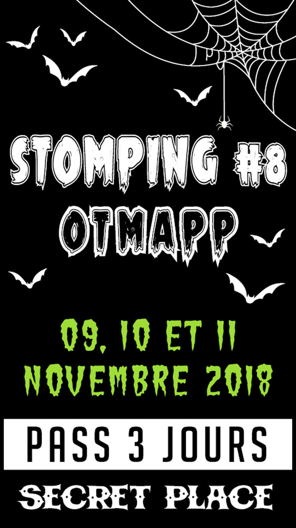 STOMPING 8 : PASS 2 JOURS