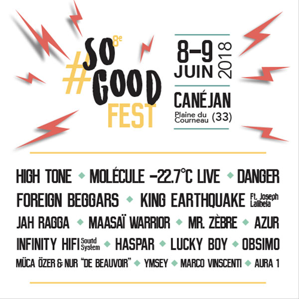 JOUR 1 / SO GOOD FEST#8
